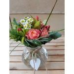 Bouquet of flowers in a vase - ΚΑΤΑΣΚΕΥΕΣ - Ανθοπωλειο Χαλανδρι