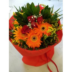 Fthinoporino bouketo - Bunch of flowers - Ανθοπωλειο Χαλανδρι