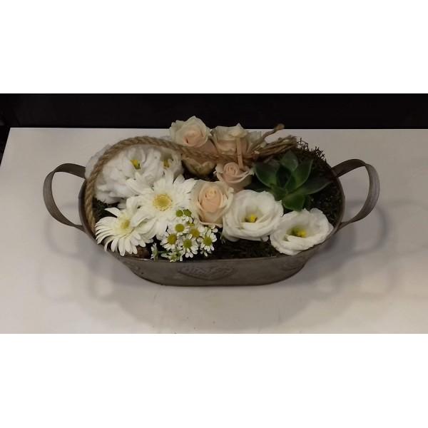 Pastel composition of flowers - ΚΑΤΑΣΚΕΥΕΣ - Ανθοπωλειο Χαλανδρι