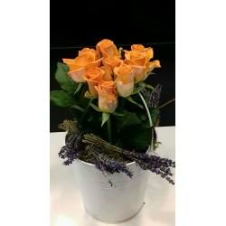 Orange roses - ΚΑΤΑΣΚΕΥΕΣ - Ανθοπωλειο Χαλανδρι